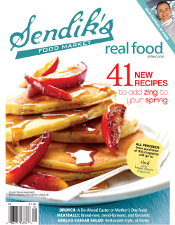 Real Food Cover - Spring 2012
